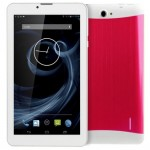 3G Phone Call Tablet PC, 7 inch, 512MB+4GB, Android 4.4, MTK8312 Dual Core, 1.3GHz, Dual SIM, GPS(Magenta)