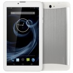 Tablette Tactile blanc 3G, Appel, 7 pouces, 512 Mo + 4 Go, Android 4.4, MTK8312 Dual Core, 1.3GHz, double SIM, GPS - Wewoo