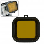 Polar Pro Aqua Cube Snap-on Dive Housing Filter for GoPro HERO4 /3+(Yellow)
