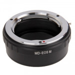 Minolta MD Lens to Canon EOS M Lens Mount Stepping Ring(Black)