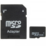 32GB High Speed Class 10 Micro SD(TF) Memory Card from Taiwan, Write: 8mb/s, Read: 12mb/s (100% Real Capacity)(Black)