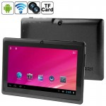 Tablette Tactile noir 7 pouces Tactile, 512 Mo + 8 Go, Android 4.0 360 degrés de rotation du menu, CPU: Allwinner A33 Quad Co...