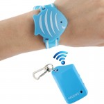 Wrist Band Anti-Lost Alarm, Protecting the Child in Public Place, JB-L03(Blue)