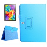 Lichee Texture Horizontal Flip Leather Case with Holder for Samsung Galaxy Tab S 10.5 / T800 (Baby Blue)