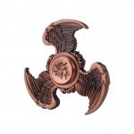 Fidget Spinner Toy Stress Reducer Anti-Anxiety Toy for Children and Adults, About 1.5 Minutes Rotation Time, Eagle Wings Shape