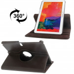 360 Degree Rotatable Litchi Texture Leather Case with 2-angle Viewing Holder for Samsung Galaxy Tab Pro 10.1 / T520 (Coffee)