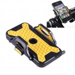 Universal Bicycle Mobile Phone Holder for iPhone, Samsung, Lenovo, Sony, HTC, and other 54-82mm Width Smartphones