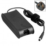 UK Plug AC Adapter 19.5V 4.62A 90W for Dell Notebook, Output Tips: 7.4x5.0mm