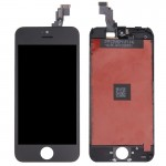 iPartsBuy 3 in 1 for iPhone 5C (LCD + Frame + Touch Pad) Digitizer Assembly(Black)