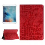 Crocodile Texture Horizontal Flip Leather Case with Holder & Card Slots & Wallet for iPad Pro 12.9 inch(Red)