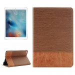 Cross & Sheepskin Texture Horizontal Flip Leather Case with Holder & Card Slots & Wallet for iPad Pro 12.9 inch(Coffee)