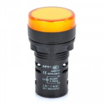 Diodes jaune AD16-22D / S 22mm LED Voyant Lampe - Wewoo