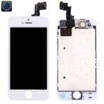 iPartsBuy 4 in 1 for iPhone 5s (Front Camera + LCD + Frame + Touch Pad) Digitizer Assembly(White)