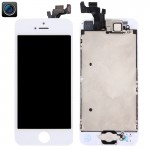 iPartsBuy 4 in 1 for iPhone 5 (Front Camera + LCD + Frame + Touch Pad) Digitizer Assembly(White)