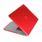 Hard Crystal Protective Case for Macbook Pro Retina 15.4 inch(Red)