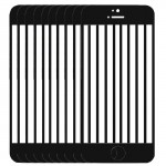 10 PCS iPartsBuy for iPhone 5C Front Screen Outer Glass Lens(Black)