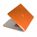 Crystal Hard Protective Case for Macbook Pro Retina 13.3 inch(Orange)