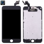 iPartsBuy 4 in 1 for iPhone 6 Plus (Front Camera + LCD + Frame + Touch Pad) Digitizer Assembly(Black)