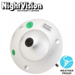 1 / 3 Sony 700TVL 3.6mm Lens Waterproof Color Dome CCD Video Camera