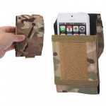 Army Combat Travel Utility Velcro Belt Pouch Bum Bag Mobile Phone Money (Camouflage)