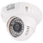 CMOS 420TVL 3.6mm Lens ABS Material Color Infrared Camera with 36 LED, IR Distance: 20m