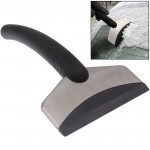 Automobile Supplies Car Stainless Steel Snow / Ice Shovel for Cold Winter(Black)