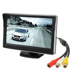 5.0 inch LCD Screen Car Color Monitor with Stand