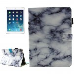 For iPad mini 4 / mini 3 / mini 2 / mini Universal Black and White Marble Pattern Horizontal Flip Leather Protective Case with H
