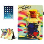 For iPad mini 4 / mini 3 / mini 2 / mini Universal TIME TO PARTY Words Pattern Horizontal Flip Leather Protective Case with Hold