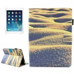 For iPad mini 4 / mini 3 / mini 2 / mini Universal Desert Pattern Horizontal Flip Leather Protective Case with Holder & Card Slo