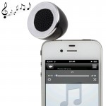 3.5mm Mobile Phone Speaker for iPhone 4 & 4S / 3GS / 3G / iPod , iPad , MP3(Black)