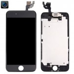 iPartsBuy 4 in 1 for iPhone 6 (Front Camera + LCD + Frame + Touch Pad) Digitizer Assembly(Black)