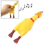 17cm Interesting Toy Stress-Relieved Screaming Hen Shrilling Chicken Relief Squeezed Gift