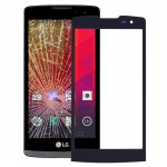 iPartsBuy for LG Leon / H340 Front Screen Outer Glass Lens(Black)