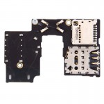 Tiroir de carte SIM Motorola iPartsAcheter Moto G 3e génération Single Version Socket + SD - wewoo.fr