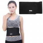 Elastic Sports Thermal Waist Support Guard, Size: 17 x 95cm(Black)