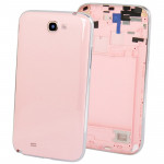iPartsBuy for Samsung Galaxy Note II / N7100 Original Full Housing Chassis with Back Cover + Volume Button(Pink)