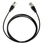 BNC Male to BNC Male Cable for Surveillance Camera, Length: 1.2m