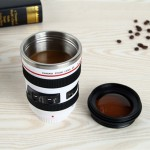 400ML Camera Lens Cup Mug Caniam EF 24-105mm F4 Filter Cup for Coffee Milk Water as Gift