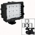 48-LED Video Light with 2 Filters for Camera / Video Camcorder (CN-48H)(Black)