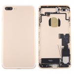 iPartsBuy for iPhone 7 Plus Battery Back Cover Assembly with Card Tray(Gold)