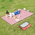 600D Waterproof Oxford Foldable Cloth Outdoor Beach Camping Mat Picnic Blanket, Size: 150*180cm, Random Color Delivery