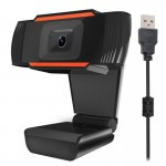 A870 12.0 Mega Pixels HD 360 Degree WebCam USB 2.0 PC Camera with Microphone for Skype Computer PC Laptop, Cable Length: 1.4m(Or