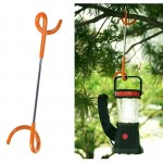 Multi-function S Type Two-way Spiral Outdoor Camping Tent Light Hook