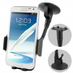 Suction Cup Car Holder for Samsung Galaxy Note II / N7100