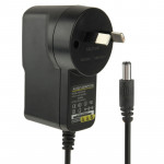 AU Plug AC / DC Adapter 12V 1A for CCD Cameras, Output Tips: 5.5 x 2.1mm(Black)