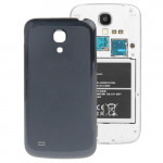 Original Version Smooth Surface Plastic Replacement Back Cover for Samsung Galaxy S IV mini / i9190(Black)