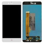 iPartsBuy for ZTE Nubia Z11 miniS / NX549J LCD Screen + Touch Screen Digitizer Assembly(White)