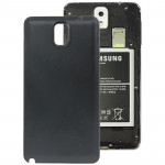 Original Litchi Texture Plastic Battery Cover for Samsung Galaxy Note III / N9000(Black)