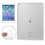 Smooth Surface TPU Protective Case for iPad Air(Transparent)